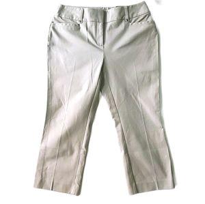 Alfani Petite Skinny Tummy Control Capri Pants